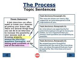 good topics for a process essay co good