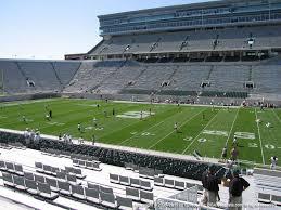 Spartan Stadium Mi View From Lower Level 7 Vivid Seats