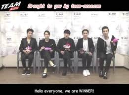 Gaon Chart Kpop Awards 2015 150128 Interview With Weibo After Gaon Chart K Pop Awards