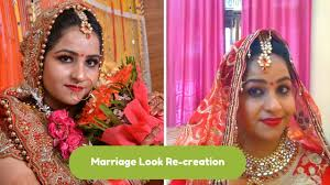 bridal makeup indian step by step in hindi my marriage look hope hapiness wizard