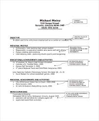 Babysitting Resume Template Classy Babysitter Resume Template 48 Free Word PDF Documents Download
