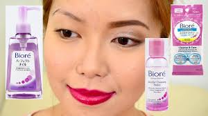 biore makeup removers do they work