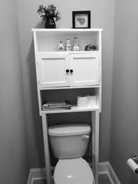 Black Over The Toilet Cabinet Diy Easy Floating Shelf Over Toilet Building A Floating Shelf
