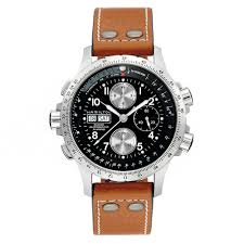 mens leather strap watches beaverbrooks the jewellers hamilton khaki x wind chronograph men s watch