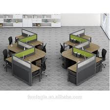 Modern Cubicle Modern Design Cubicle 4 Person Office Workstation With Height