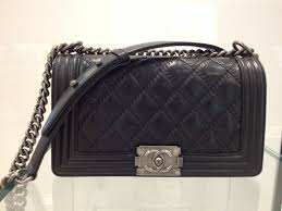 The Chanel Boy Bags from the Fall/Winter 2013 collection | Spotted ... & Chanel Black Boy Quilted Medium Bag Adamdwight.com