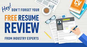 Resume Review Free Amazing Free Resume Review Services Combined With Get A Free Resume Review