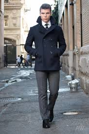 how should a peacoat fit