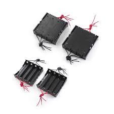 <b>30pcs</b>/<b>lot MasterFire</b> 11cm 8 Wires Black Plastic 4 x 3.7V 18650 ...