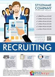Recruitment Brochure Template Recruiting Flyer Template Recruiting V5 Psd Flyer Template