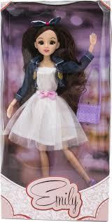 <b>Кукла</b> Эмили на вечеринке 29 см. шарнирная от <b>Funky Toys</b>, 71001