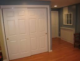 image of bypass closet doors custom