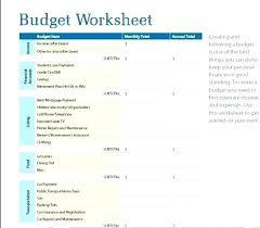Budget Sheet Free Printable Basic Monthly Budget Spreadsheet Free Printable Simple Monthly