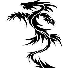 Tattoo Dessin Dragon Facile Clipart Best Simple Angel Tattoo