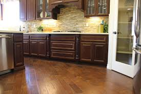 Kitchen Floor Wood Floor Excellent Home Interior Design Ideas With Engineered Or