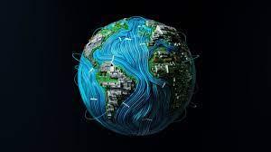 3840x2160 High Tech Earth 4K Wallpaper ...