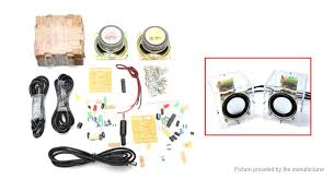 product image diy amplifier speaker kit pair