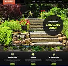 contractors website templates builders websites design company website template for landscapers