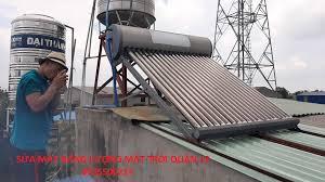 Sửa máy nước nóng năng lượng mặt trời tại Quận 12