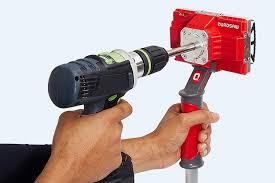 power drills are great for putting round holes in the wall when you need to cut out a four sided hole for inserting a switch plate or an electric