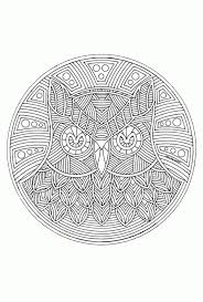 Mandala Kleurplaten Dieren Archidev Kleurplaten Mandala Regarding