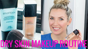 my dry skin makeup routine my favorite foundation