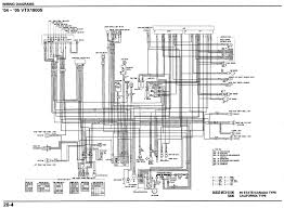 motorcycle wire schematics acirc bareass choppers motorcycle tech pages 04 05 vtx 1800s schematic