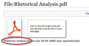 Wiki Upload File Documentation Mediawiki Basics Modifying Link Behavior Ubc
