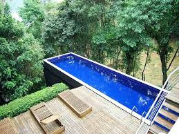 image result for lap pools pools and water lap diy above ground pool above hill above