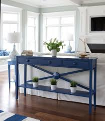 blue console table. Blue Console Table Resort Navy -