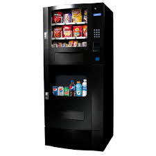 Tabletop Snack Vending Machine Classy Seaga SM48B Snak Mart Automatic Snack Drink Combo Vending Machine
