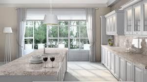 quartz kitchen countertops white cabinets. Moorland Fog With White Cabinets Quartz Kitchen Countertops