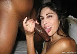Erblack woman sucking cock