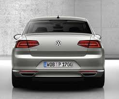 2017 Volkswagen Passat Rear Angle, Tailpipe Andtaillights  Pinterest