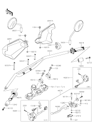 2015 kawasaki klr650 kl650eff handlebar parts best oem handlebar parts diagram for 2015 klr650 kl650eff motorcycles