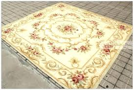 7x7 square rug area rugs for dining room vintage antique french decor pastel country home free
