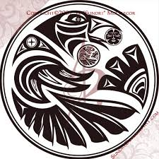 Raven Pattern Raven Steals The Sun By Sundri Celticviking