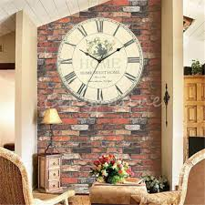 large office wall clocks. Large Wall Clock Flower Vintage Rustic Design Home Office Cafe Bar Decor Decoration Clocks Modern On Sale From Kepiwell8, $37.63| Dhgate. S