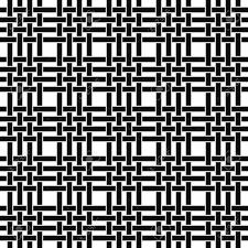 Line Pattern Design Seamless Monochrome Line Pattern Design Vector Background