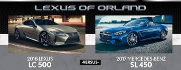 2018 lexus 450.  lexus 2017 lexus lc 500 vs mercedesbenz sl 450 banner inside 2018 lexus