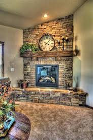Modern Corner Fireplace Design Ideas Stone And Brick Corner Fireplace Design Corner Fireplace