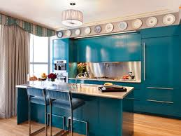 Blue Paint For Kitchen Kitchen Cabinets 4 Stunning Kitchen Cabinet Painting Ideas With