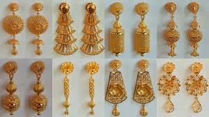Latest Earring Design With Price Latest Party Wear Gold Earrings Designs 2018 With Weight And Price