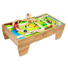 thomas the train wooden train set and table piece wooden train set with table thomas the