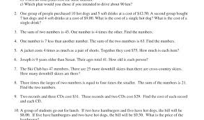 linear equations word problems worksheet free writing doc activities worksheets algebra linea
