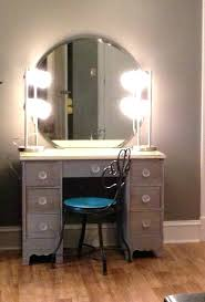 large size of mirror with lights fresh new vanity desk without makeup diy i