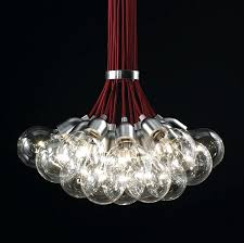 hang light from ceiling idle max s is a stunning suspension light with multiple clear bulbs hang light from ceiling