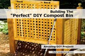 compost bin handymanclub com
