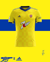 I mean, this is out there, but it's a thing of beauty. Arsenal Away Kit 20 21 Concept Conceptfootball