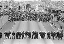 Image result for 1960s university  protests